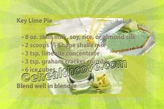 key lime...stop by https://www.facebook.com/ehealthfitness?ref=hl and 'like' my fan page. Thanks!