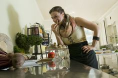 Barbara Maccaroni is the heart and hands behind the tasty treats and meals at B.Love. http://blove.ca. Gary Yokoyama/The Hamilton Spectator.