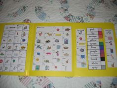 Lots of links to charts for writing folders  Mini Offices For Students in Grades K-3