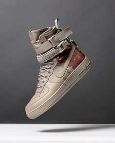 for release information and a closer look at the Nike SF-AF1 Desert Camo hit the 'upcoming' page on bdgastore.com #nike #camo #bdgastore