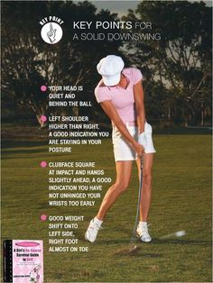 Whether you are a professional golfer, or a completely beginner, it does not matter. Golf is a game that can be both rewarding and challenging no matter your level of expertise. Read on for some tips to help you become a better golfer. Golf 6, Play Golf, Volkswagen Golf, Womens Golf Wear, Golf Putting Tips, Golf Instruction, Golf Tips For Beginners, Perfect Golf, Golf Lessons