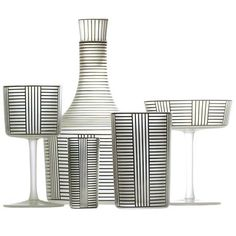 Hoffmann Serie B by Josef Hoffmann produced by LOBMEYR 1823 - click to enlarge