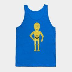C3PO flata t shirt