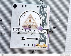Хипстерский альбом ~ ScrapBox - уникальные материалы для скрапбукинга