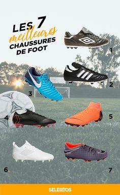 quality design 2d538 5823c Les meilleures chaussures de football ! Trouvez les chaussures de foot à  crampons qui vous correspondent