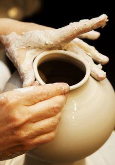I have always dreamed of pottery making...   Simon Doonan and Jonathan Adler at home in New York City « the selby
