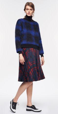 MAX&Co. AW 2015 - Sweatshirt PIANTA / Turtleneck CREARE / Skirt PERON / Shoes ALICE
