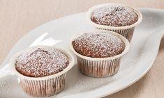 Ricetta Tortine senza glutine al cacao e pere - Paneangeli