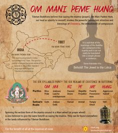 The Mani mantra is the most widely used of all Buddhist mantras, and open to…