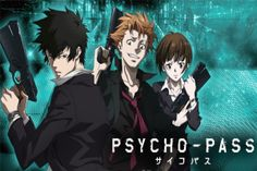 Psycho-Pass: I don't belong to this fandom but does anyone else think they look a little like harry, Ron, and hermione?