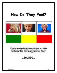 """How Do They Feel? Teaching Young Children to Recognize Emotion in Others"" provides children practice in recognizing and labeling emotions. It is appropriate for students on the autism spectrum, as well as others who exhibit social-emotional and behavioral challenges. 2.00"