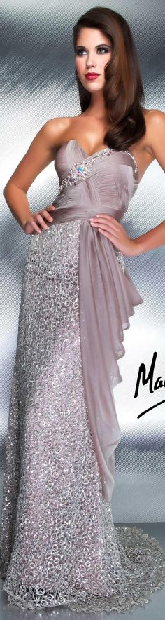 Mac Duggal couture dress (I want this!)