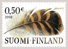 Postin verkkokauppa Muita postimerkkejä Sulka - 0,50 euron ...