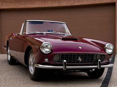 Ferrari 250 gt cabriolet serie ii by pininfarina 1960