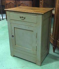 Petit vaisselier en peinture ann es 50 h 1m13 l 90cm p for Monsieur meuble saint brieuc