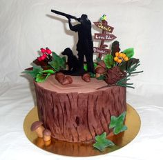 The hunters cake - Cake by LH decor