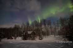 Alaska's Northern Lights from Solar Flares  Willow Aurora (akphotograph