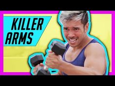 Toned Lean Arms Workout - HIIT Workout for Shoulders, Bicep, Tricep | Mike Donavanik (MikeDFitness) - YouTube