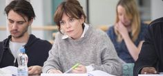 Marcella: Anna Friel's character takes over from Sarah. Marcella: Anna Friel's character takes over from Sarah Lund… Marcella Tv Series, Anna Friel Marcella, Detective, Sinead Cusack, Jamie Bamber, Tv Series 2016, Grow Out, La Mode, Braids