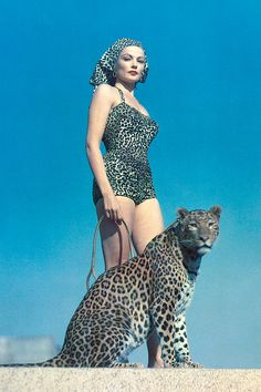 From our blog : a history of leopard print in fashion