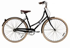 Black Single Speed Sommer Bicycle - Papillionaire Bicycles