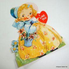 Vintage Valentine I Like You Valentine A Gibson by VintageTinsel