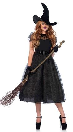 669146593f4 Leg Avenue Women s Darling Spellcaster Costume  3 piece Darling spell  caster