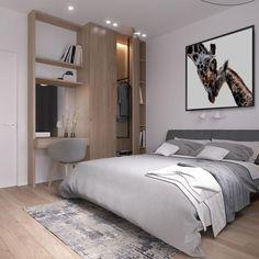 Best Scandinavian Bedroom Decoration Ideas - Di Home Design Scandinavian Bedroom Decor, Modern Scandinavian Interior, Home Decor Bedroom, Modern Interior Design, Nursery Decor, Nursery Room, Linen Bedroom, Bed Linen, Bedroom Furniture