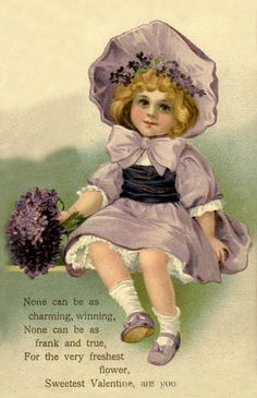 Vintage Valentine Postcard by Suzee Que, via Flickr