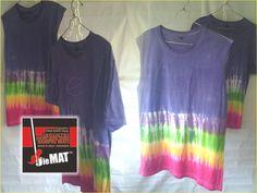 t-shirt TIEDIE couple,. lengan pendek-yukensi,.. kau atau aku yang di depan sama saja,.. size M / catoon