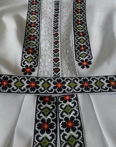 Beaded Embroidery, Cross Stitch Embroidery, Embroidery Patterns, Diy Crafts Hacks, Diy And Crafts, Afghan Dresses, Sewing Crafts, Rings For Men, Textiles