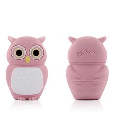 Pink Owl 8 GB USB Drive & Changeable Cover by Bone #zulily #zulilyfinds
