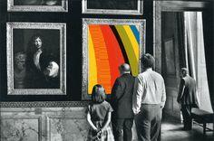 Colorworld / Society Art Print by Matthieu Bourel / Ek Dojo Magritte, Gifs, Matthieu Bourel, Computer Generated Imagery, Elliott Erwitt, Tumblr Art, Photographer Portfolio, Magnum Photos, Poster Prints