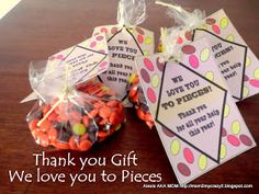 Running away? I'll help you pack.: Gift's For Others ... We Love You to Pieces