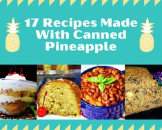 Jalapeno Recipes, Pineapple Recipes, Canned Pineapple, Pineapple Chicken, Fruit Recipes, Dessert Recipes, Pineapple Kabobs, Pineapple Curry, Carrot Cake With Pineapple