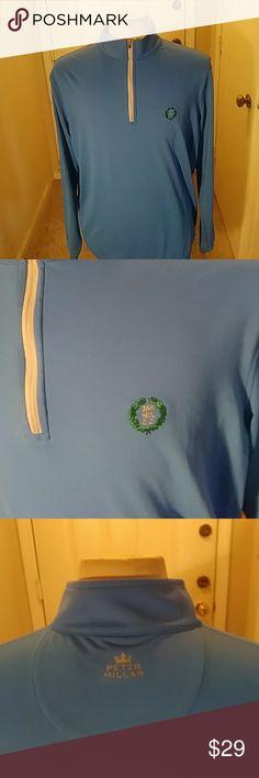 Peter millar This sale is for men mint peter millar soft shell element wicking golf jacket light green large Peter Millar Jackets & Coats Lightweight & Shirt Jackets