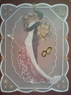 Velum wedding card...WOW!!!