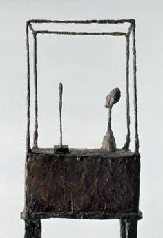 Alberto Giacometti La cage, 1950 (detail) bronze, painted, 178 x… Alberto Giacometti, Giovanni Giacometti, Contemporary Sculpture, Modern Contemporary, Bronze Sculpture, Sculpture Art, Monet, Antoine Bourdelle, Statues