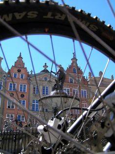 Gdansk. Long Market and Neptune Fountain.