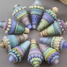 Magma Beads ~Gelato~ Handmade Lampwork Beads. | Jewelry & Watches, Loose Beads, Lampwork | eBay!