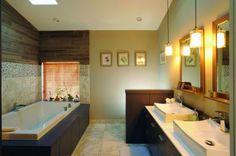 builder bathroons warm color - Google Search