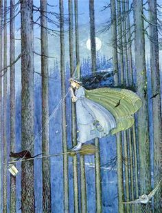 Witch by Ida Rentoul Outhwaite  (You might be a witch)