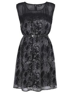 'Justine'+Print+Dress+-+