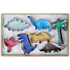 Images : Set 7 Mini Emporte-pièces Dinosaures