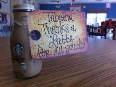 Staff Appreciation idea