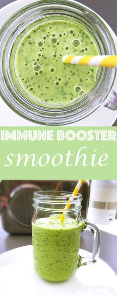 Blend up a totally delicious immune booster smoothie, delicious smoothies for kids, healthy breakfast smoothies for kids, easy family food from daisies and pie