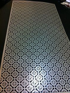 Decorative Sheet Metal Panels Perforated Decorative