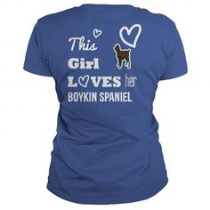 Boykin Spaniel This girl loves her Boykin Spaniel #BoykinSpaniel