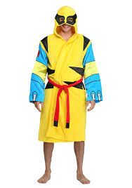 Wolverine Men's Marvel Cotton Hooded Bathrobe. This could be a great best gift for father's day, birthday for men, boys and little kids, christmas, boyfriend, friends, couples, valentines, graduation, weeding, engagement, and retirement. It's an inexpensive great meaning present and personalized for any funny guys anniversary. #cheap #unique #weird #DIY #unusual #homemade #online #coolideas #shop #him