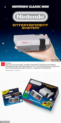 What year is it? The NES is coming back!
